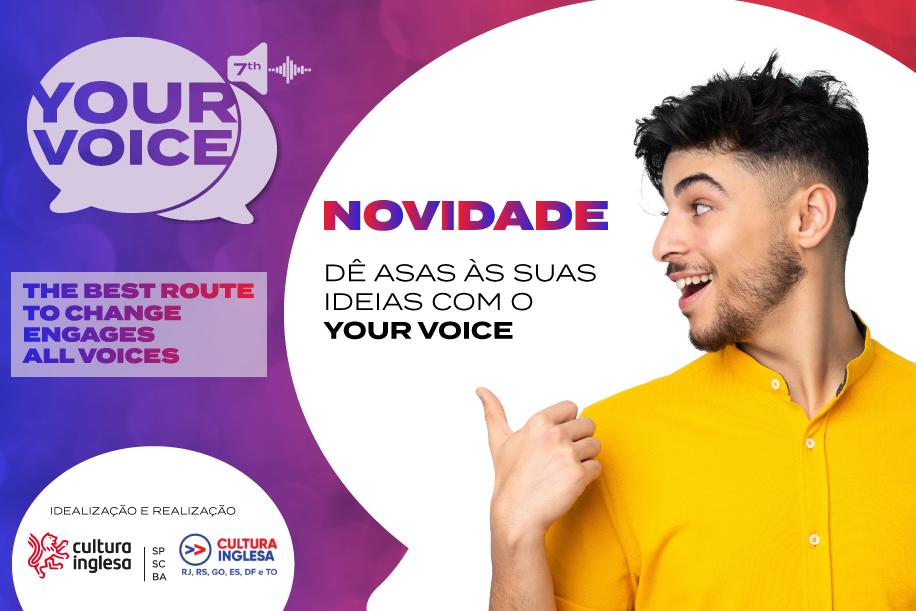NOVIDADE | O concurso de public speaking da Cultura
